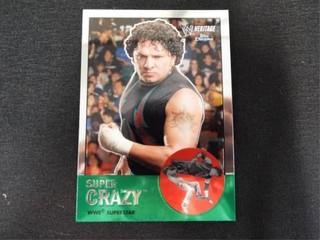 Super Crazy WWE Superstar Heritage Trading Card
