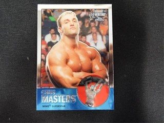 Chris Masters WWE Superstar Heritage Trading Card