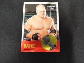Kane WWE Superstar Heritage Trading Card