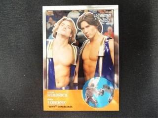 Brian Kendrick   Paul london WWE Superstar Card