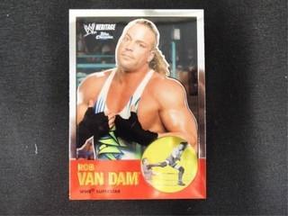 Rob Van Dam WWE Superstar Heritage Trading Card