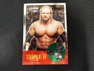 Triple H WWE Superstar Heritage Trading Card