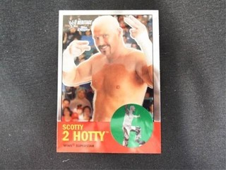 Scotty 2 Hotty WWE Superstar Heritage Trading Card