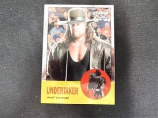 Undertaker WWE Superstar Heritage Trading Card