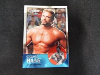 Charlie Haas WWE Superstar Heritage Trading Card