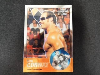 Rob Conway WWE Superstar Heritage Trading Card