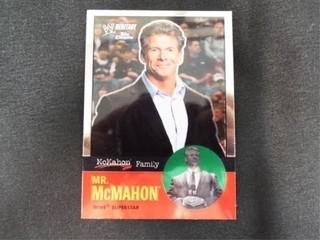 Mr  McMahon WW Heritage McMahon Family Card
