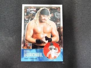 Paul Burchill WWE Superstar Heritage Trading Card