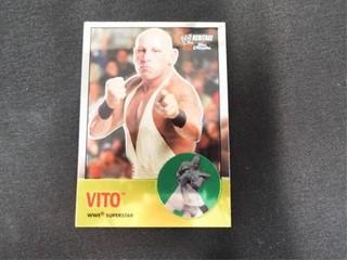 Vito WWE Superstar Heritage Trading Card