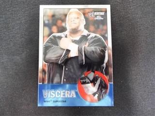 Viscera WWE Superstar Heritage Trading Card
