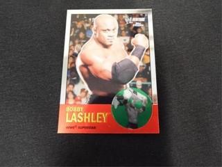 Bobby lashley WWE Superstar Heritage Trading Card