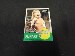 Funaki WWE Superstar Heritage Trading Card