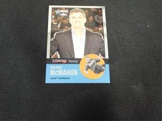 Shane McMahon WW Heritage McMahon Family Card