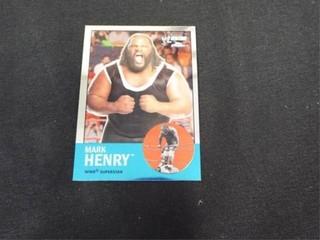 Mark Henry WWE Superstar Heritage Trading Card