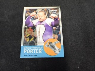Montel Vontavious Porter WWE Superstar Heritage