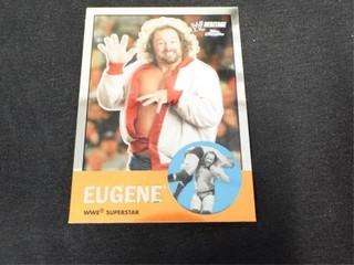 Eugene WWE Superstar Heritage Trading Card