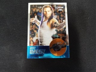 Jeff Hardy WWE Superstar Heritage Trading Card