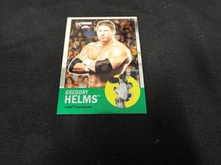Gregory Helms WWE Superstar Heritage Trading Card