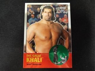 The Great Khali WWE Superstar Heritage Card