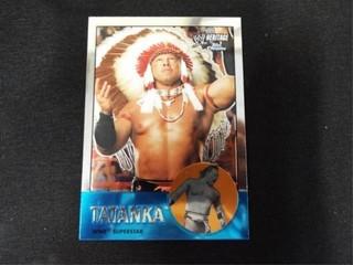Tatanka WWE Superstar Heritage Trading Card
