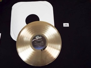 Michael Jackson Thriller Gold Record