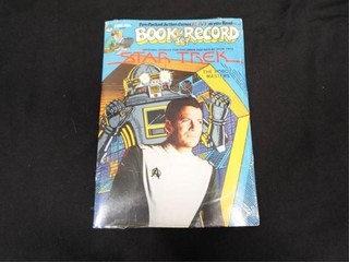 Star Trek  the Robot Masters  Book   Record Set