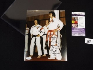 Photo of Elvis Presley   Kang Rhee  Kang Rhee sign
