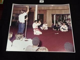 Photo of Elvis Presley at Karate  16  x 20