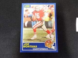 Joe Montana Football Trading Card