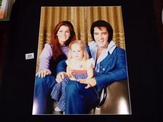 Photo of Elvis  Priscilla   lisa Marie Presley