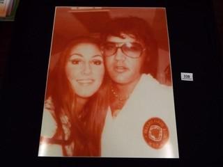 Photo of Elvis   Priscilla Presley