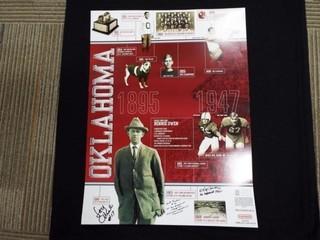 University of Oklahoma Football Poster  4 of 4