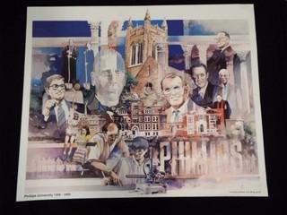 Phillips University limited Edition Jim Bray Print