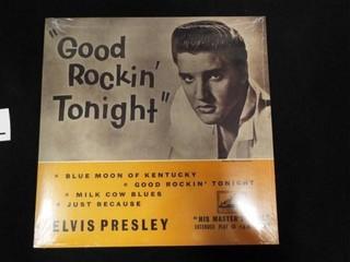 Elvis Presley  Good Rockin  Tonight  Record