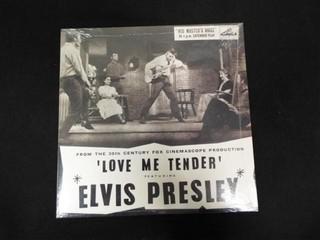 Elvis Presley  love Me Tender  Record