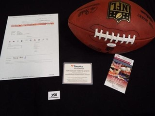 Baker Mayfield  18  1 Pick Signed Football