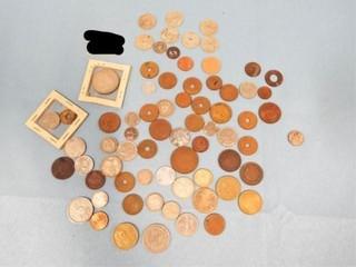Foreign Coins   Oklahoma Consumer Tax Tokens