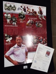 University of Oklahoma Football Poster  2 of 4