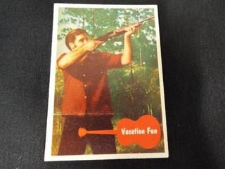 1956 Elvis Presley  Ask Elvis  Trading Cards   16