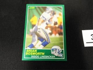 Brian Bosworth Football Trading Card