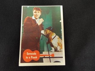 1956 Elvis Presley  Ask Elvis  Trading Cards   40