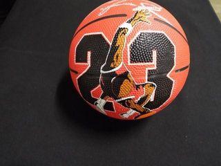 Michael Jordan Signed Mini Basketball