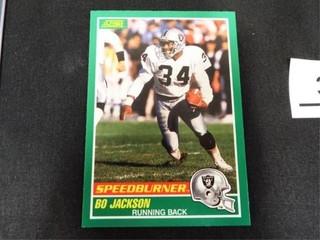 Bo Jackson Speedburner Football Trading Card