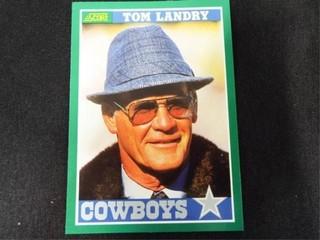 Tom landry Football Trading Card