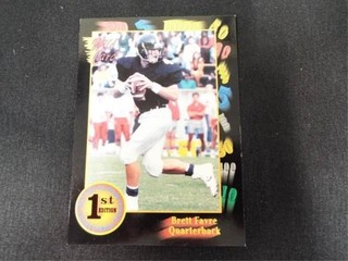 Brett Favre Wild Card Collegiate Football Card