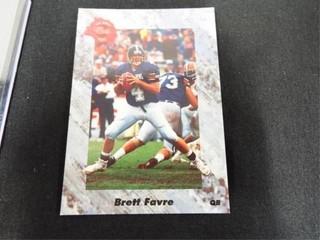 Brett Favre Rookie Football Trading Card
