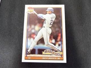 Ken Griffey Jr Baseball Trading Card