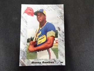 Manny Ramirez Draft Pick Baseball Trading Card