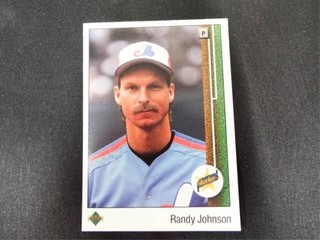 Randy Johnson Rookie Baseball Trading Card
