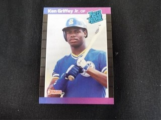 Ken Griffey Jr Rated Rookie Baseball Trading Card